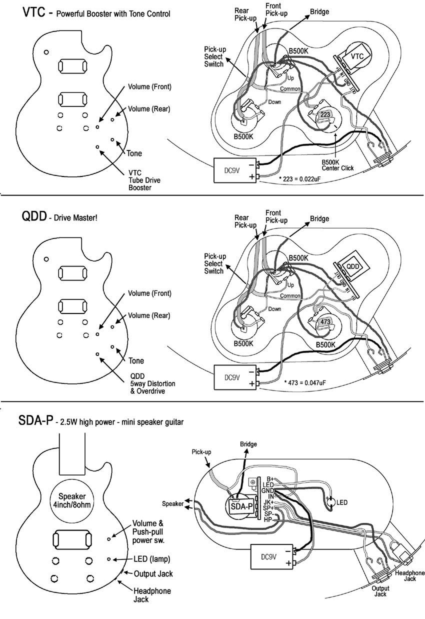 About Artec 4 Conductor With Gibson Les Paul Wiring Diagram Sda P Speaker Guitar